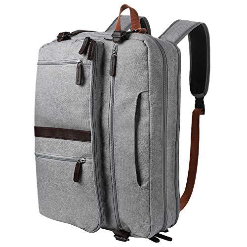 Gemeer umwandelbar Rucksack Umhängetasche Handtasche Laptoptasche Business Tasche Multifunktions Reiserucksack für 16,8 Zoll Laptop