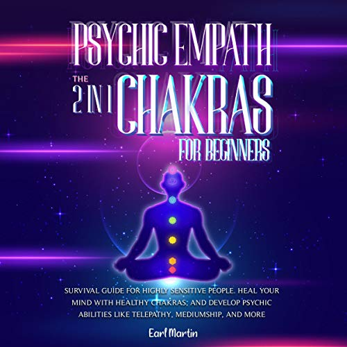Couverture de Psychic Empath & Chakras for Beginners