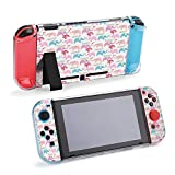 SUPNON Cute Cartoon with Heart Shape Balloon Compatible with Nintendo Switch Console & Joy-Con Protective Case, Durable Flexible Shock-Absorption Anti-Scratch Drop Protection Cover Shell Design20695