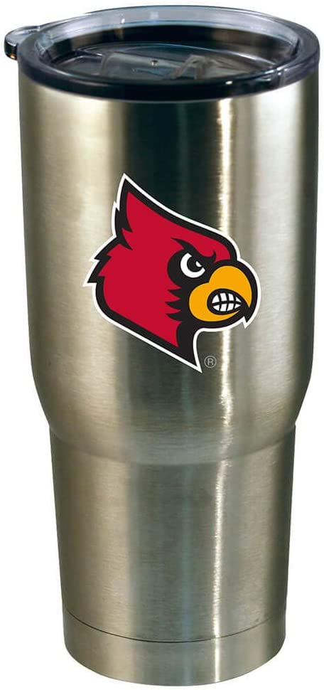 The Memory Company NCAA Team Logo 22oz Decal Stainless Steel Tumbler