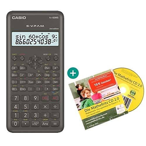 Casio FX-82MS 2 + Mathefritz CD de aprendizaje CALCUSO (alemán)
