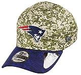 New Era England Patriots 39thirty Adjustable Cap NFL Digi Camo Camouflage/Blue - M - L