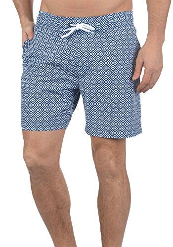 Blend Meo Herren Swim-Shorts Kurze Hose Badehose, Größe:XL, Farbe:Ensign Blue (70260)