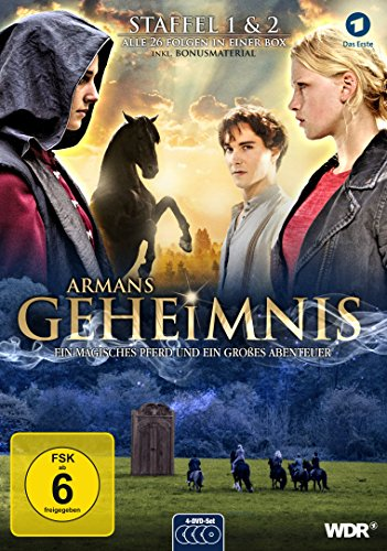 Armans Geheimnis, Staffel 1 & 2 - Die Collection [4 DVDs]