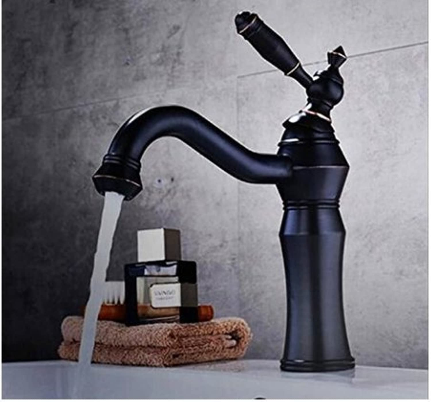 Bathroom Sink Taps High Quality Hot and Cold Single Handle High Orb Bathroom Sink Faucet Basin Faucet with Tap Bathroom Faucets