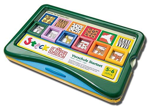 SteckLÜK: Vorschul Set Mathe - Deutsch - Logik: Alter 5 - 6 (grün): Vorschule / Vorschul Set Mathe - Deutsch - Logik: Alter 5 - 6 (grün) (SteckLÜK: Vorschule)