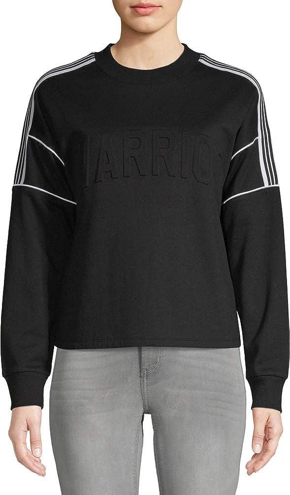 No Boundaries Juniors' Graphic Crewneck Sweatshirt