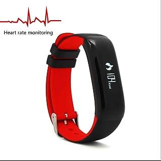 Monitor de Actividad, Pulsera de Actividad,Reloj Inteligente Smartwatch con Fitness Tracker Monitor de Calorías Rastreador de Frecuencia Cardíaca Notificación de mensajes para Android y iOS Teléfono