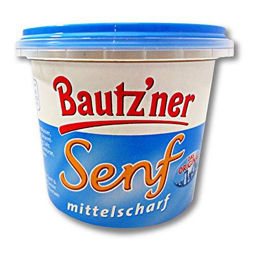 Bautzner Senf mittelscharf im Becher 200 ml Senfbecher, Bautzner Spezialitäten