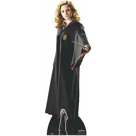 De los libros oficiales de Harry Potter con recortes de estrella de la escuela de brujería y magia Uniforme de Hermione Granger (Emma Watson) Hogwarts de 163 cm de altura