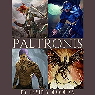 Paltronis audiobook cover art
