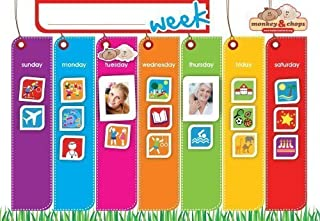 Weekly Activity Planner - Fully Magnetic Behavior Charts for Kids
