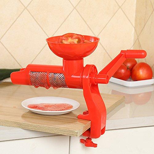Handgekurbelter Tomaten-Entsafter für den Küchenhaushalt Multifunktions-Entsafter für manuelle Fruchtsaftpresse
