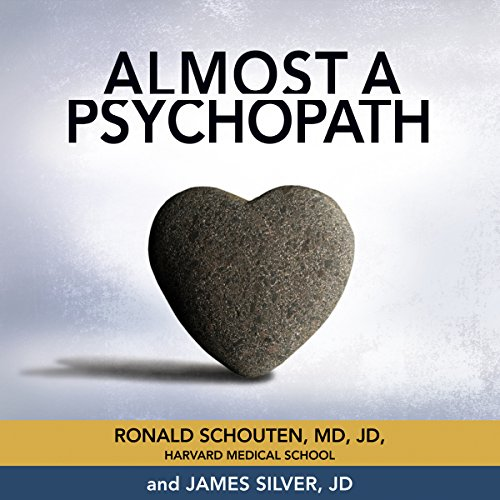 Almost a Psychopath audiobook cover art