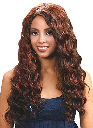 "BOBBI BOSS FIRST REMI 100% Premium Human Hair Weave - CLASSIC WAVE REMI 16"" - #P4/30"