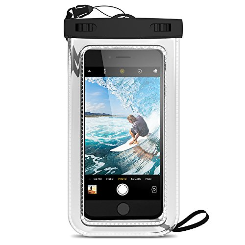 Maxboost Universal Waterproof Case 2 Pack for Smartphone, iPhone, Android, Window Phone up to Screen Size 6.0-inch Diagonal - Pack of 2