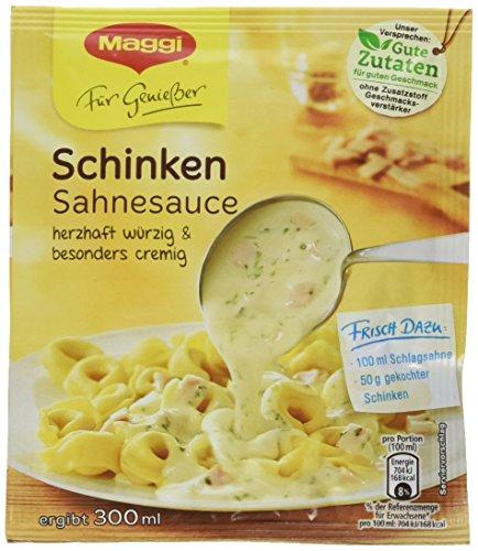 Maggi La Pasta Sauce Schinken Sahne, 17er Pack (17 x 33 g)