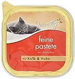 Jeden Tag Katze Feine Pastete Kalb, 16er Pack (16 x 100 g)