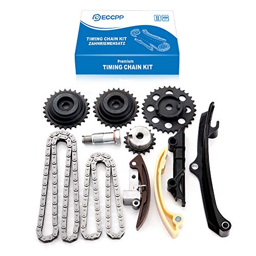 ECCPP Timing Chain Kit fits for 1999 2000 for VW EuroVan Golf Jetta 2.8L 021109503D