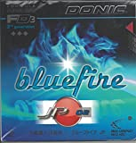 Donic, gomma per ping pong Bluefire JP02, Red, 2.0mm