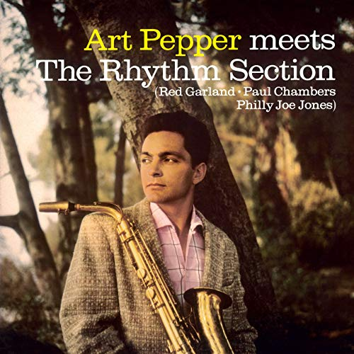 Album Art for Meets The Rhythm Section [Transparent Yellow Colored Vinyl] by Art Pepper