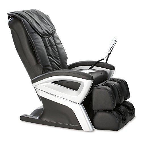 aktivshop Massagesessel Relaxsessel Fernsehsessel (Schwarz)