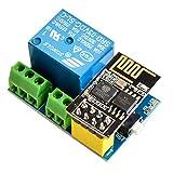 IZOKEE ESP8266 Relé con ESP8266 ESP-01S Series WiFi Transmisor-Receptor Módulo para Arduino Raspberry Pi