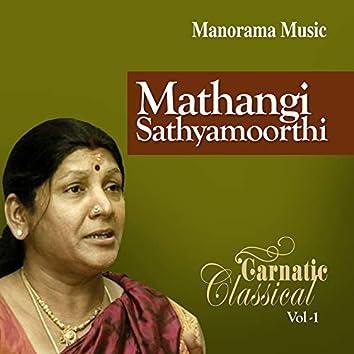 Mathangi Sathyamoorthi Classical Vol 1 (Carnatic Classical Vocal)