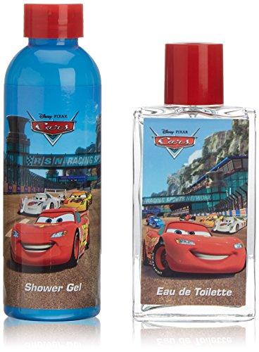Cars Duo Set - 1x Eau de Toilette Vaporisateur/Spray 75 ml, 1x Duschgel 100 ml, 1er Pack (1 x 0.49 kg)