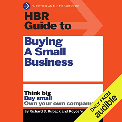 HBR Guide to Buying a Small Business audiobook cover art