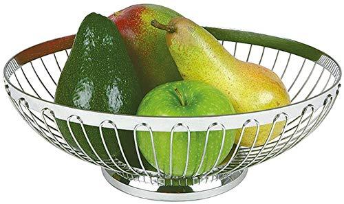 APS corbeille à pain ou à fruits Ø 17,5 cm, H: 7 cm 18/8 acier inoxydable