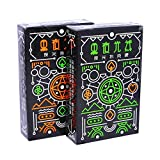 MOCRIS Karten Fluorescent Black Night Kartenspiel Bright Night Game Spezielle Pokerausrüstung -