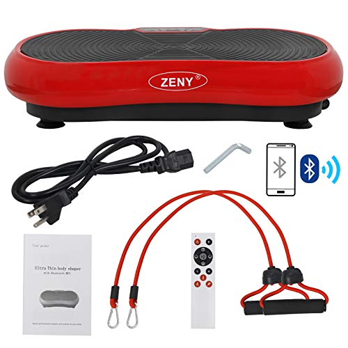Buy ZENY Fitness Vibration Massage Machine Vibration Massager Whole Full Body Shape Exercise Machine...