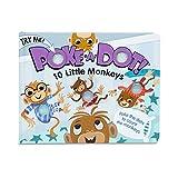 Melissa & Doug Poke-a-Dot Book – 10 Little Monkeys