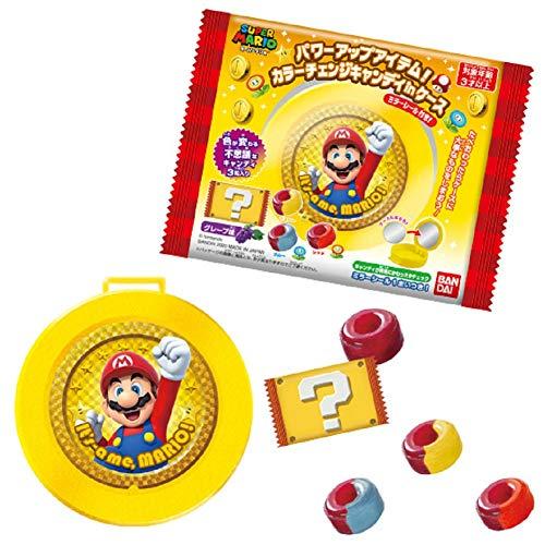 スーパーマリオ パワーアップアイテム!カラーチェンジキャンディinミラーケース (10個入) 食玩・キャンディ (スーパーマリオ)