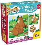 Lisciani - Carotina Baby Puzzle El bosque (80076) - Juego eduativo para niños