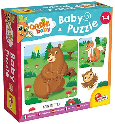 Lisciani Giochi- Carotina Baby Il Bosco Puzzle, Multicolore, 80076