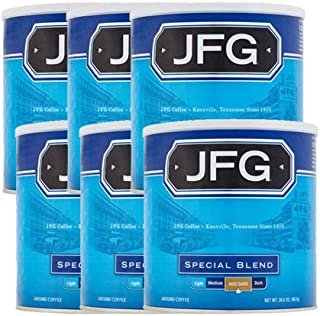 JFG 30.6 oz Canister Special Blend Ground Coffee, 6 Pack