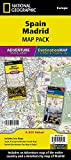 Spain, Madrid [Map Pack Bundle] (National Geographic Adventure Map)