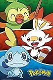 1art1 Pokemon - Galar Starters Pster (91 x 61cm)