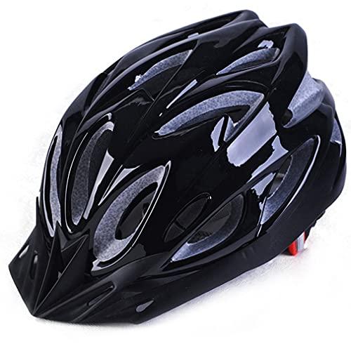Olamasa 大人マウンテンバイクヘルメット自転車サイクリングヘルメット超軽量インターグラリーサイズML軽量機器ギアスポーツブラック