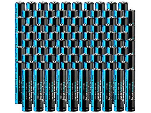 tka Köbele Akkutechnik R3 Batterien: Sparpack Alkaline-Batterien Micro 1,5V Typ AAA, 100 Stück (1,5 Volt Micro Batterien)
