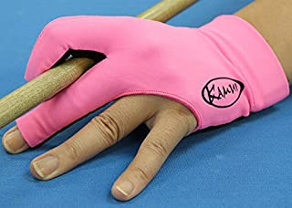 Kamui Action for Pink Ribbon Professional Billiard Pink Glove Limited Edition for Carom Billiards Pool Left/Right Handed Players (RHP = Left Hand Glove/LHP = Right Hand Glove)