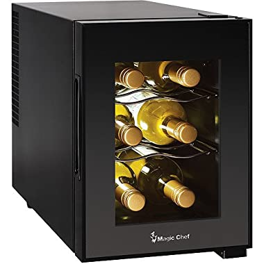 Magic Chef 6-Bottle Theromoelectric Champagne and Wine Cooler