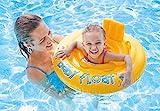 Intex 56585EU - 70 cm de flutuador insuflável redondo para bebé durante 6 a 12 meses