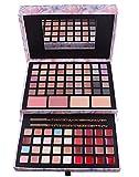 BrilliantDay set palette 85 colori per makeup cosmetici professionali, include rossetto correttore ombretti lucidalabbra fard cipria fondotinta