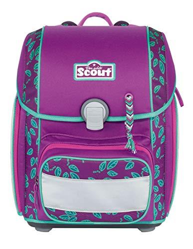 Scout Genius zaino scolastico con accessorio set di 4pz.