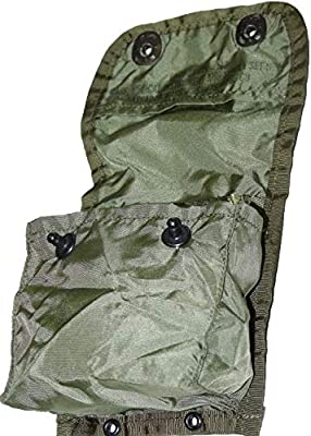 Ambassador Bags & Spats Set of 2 US Army Military Alice First AID CASE Medical Pouch Bag OD Green
