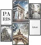 Papierschmiede® Mood-Poster Set Paris | Bilder als