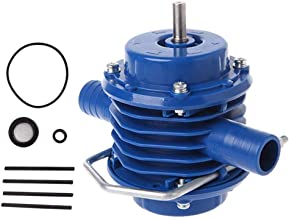مضخة مياه JMcall® عالية التحمل ذاتية الفتح للاستخدام اليدوي للحديقة المنزلية طرد مركزي (اللون: أزرق، المادة: معدن)